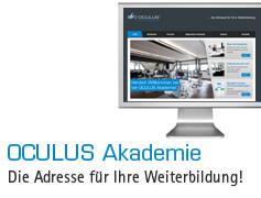 OCULUS Akademie. Die Adresse für Ihre Weiterbildung!