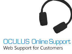 OCULUS Online Support - Web Support for Customers