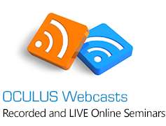 OCULUS Online Seminars - Recorded and LIVE Online Seminars